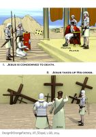 Stations of the cross - comics - page 1 by Berandas