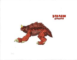 Baragon (Guardian) by Kaijudude