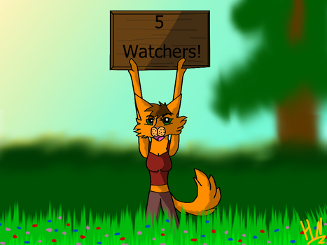 5 Watchers! by Storm-berry