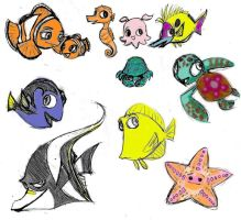 Nemo and Friends by anniemae04