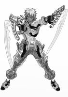 Haseo by Twojstarypl