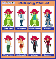 Clothing meme INB - Haku by HaraRester