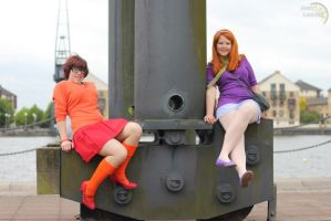Seductive Daphne and Velma. by Geena-x