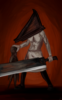Pyramid Head by Rainy-zone
