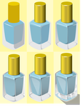 Nail Polish Progression by Zilpha