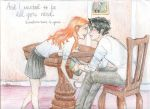 Harry and Ginny lurrve by burdge
