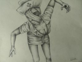 nurse (Silent Hill) by PainfulDead616