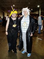 Yami and Bakura Cosplay by CelticMagician