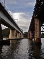 Two Bridges by Seans-Photography