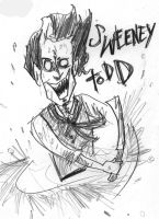 Sweeney Todd by AlixPaugam