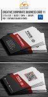 Creative Corporate Business Card 11 by EgYpToS
