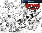 LIL GOTHAM SKETCH COVER by RM73