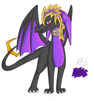 Request: Magic the Dragoness by Banderi