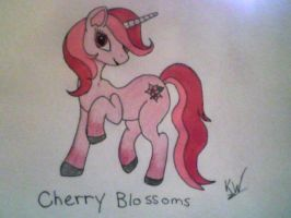 Cherry Blossoms OC by KayceeMuffins