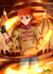 Dustin Flame: Torch of Knowledge by teammagix