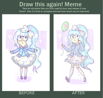 Draw This Again Meme 1 by PixieParrot
