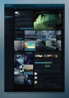 DeviantART Redesign by Crelcreation