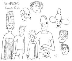Simpsons, Glaivester Style by Glaivester