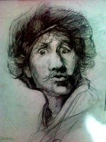 rembrandt.. by gokceogl
