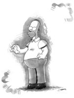 Homero Simpson by ODH77