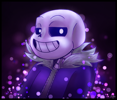 A Sparkly Sans Appeared by Oszvalt100