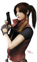 Claire Redfield RE DC render by VickyxRedfield