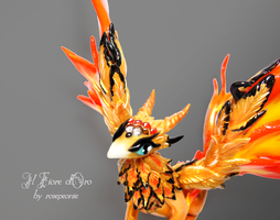Phoenix dragon 3 by rosepeonie