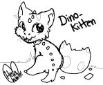 Dino Kitten by HezaChan