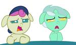 Baby Lyra and Bonbon by Beavernator