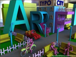 Typo City by demirsoy