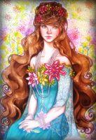 APH: The Flower Maiden by thecarefree