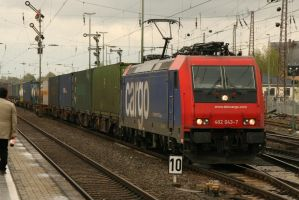 A rented loco by Budeltier