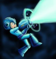 Mega Man Sketch by dreno360