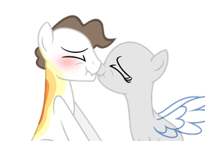 OPEN COLLAB | Shy Kisses by JackeOneBlack