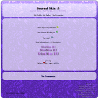 [ Simple Journal Skin XIII ] by Inconcabille