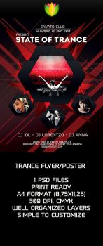 Trance Flyer Preview by amiLOnZ