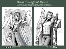 Draw this again meme 2 by Tiamate