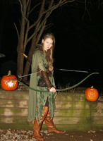 Mirkwood Elf Costume Fall Edition Hood Off by LadyElasa