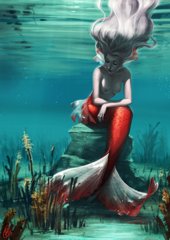Sea Maiden by Roggles