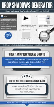 Free Flap page shadows actions by Giallo86