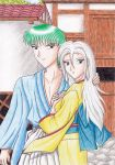 KH-OCs Ryo and Rika in ancient Japan by Yugoku-chan