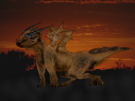 Earth, Dragon Series by LivingAliveCreator