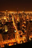 From Over the Ledge - Chicago I by designing-Life