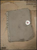 Weathered Brown Book by CopperCentipede