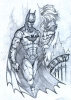 Batman Arkham Asylum by SaintYak