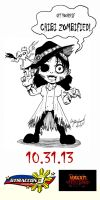 GTMACCON Pre-event Chibi Zombified Ad by lady-storykeeper