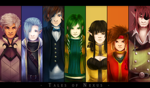 Rainbow-Colored Nexus by applePAI