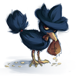 murkrow by catfinches
