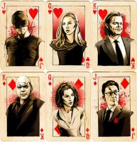 Daredevil Card Set by AgarthanGuide