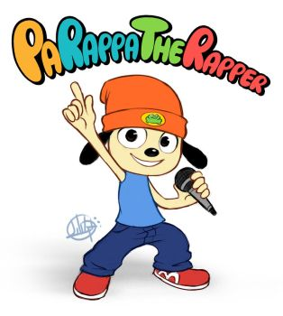 Parappa The Rapper by LuigiL